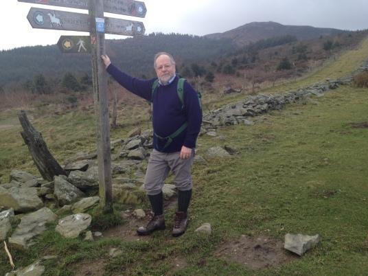 DMY near Cilcain to Moel Llys y Coed Easter