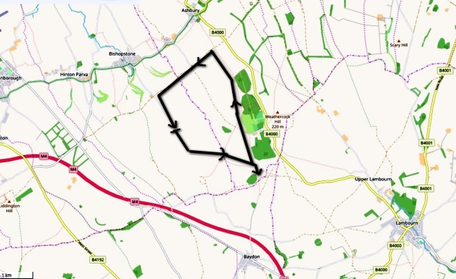botley copse route